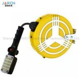 High Quality Durable EU/CEE/IEC 15M 12M Standard Auto Cable Reel for industrial Lighting