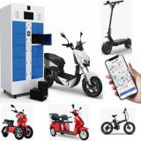 Intelligent Lithium Battery Charging Swapping Station For Electric Scooter Electric Tricycle