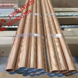 Diameter 75 Mm X 0.8 Mm Tube Aluminum Round Pipe For Corridor/ Balcony Decoration