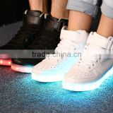 crazy adult flashing trainers wholesale,hot selling running shoes led lights,led flashing shoe light
