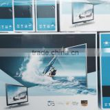 "22"" LCD /LED TV, front glass , big cabinet ,two feet ,Guangzhou factory SKD KIT,cheap price ,own mould"