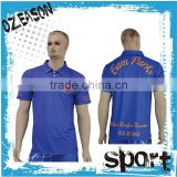 polo t shirt with different colors knit collars for adults/kids from china supplier factory