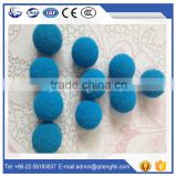 Wholesale alibaba accessories for cleaning concrete pump steel pipe standard sponge cleaning ball
