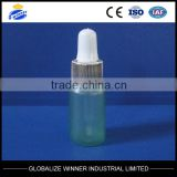 15ml,20ml,30ml,35ml,50ml green plastic oil bottle with screw cap,pet bottle for cosmetic