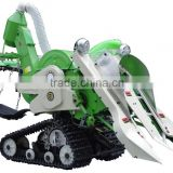 New design walking paddy mini combine harvester                                                                         Quality Choice