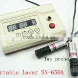 low level laser for painfull device