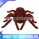 11 inch realistic plastic animal toy rc spider toys for halloween