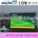 high brightnessfootball game sport led dispaly screen high quanlity large led display for stadium p10 led display board