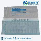 Disposable Heat Sealing Sterilization Flat Pouch for cotton swabs