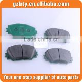 Brake pads fit for TBrake pads fit for Toyota carolla NZE141 OE 04465-02220 Brake pads fit for corolla auto parts fit for toyota