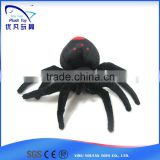 Sate and cute kids souvenir 100% pp stuffed animal /plush soft Black widow spider animal baby toys