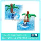 Palm tree Inflatable drink holder float