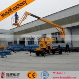 articulated boom lift/vehicular lift/cherry picker Clean lift/Sky lift/man lift from machine manufacturers