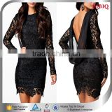 backless long sleeve black evening dresses vintage lace wedding dresses short sexy black lace dress patterns