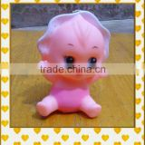 cartoon doll figures fashion baby soft rubber vinyl doll