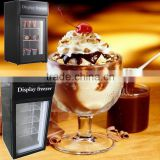 42L Glass door mini ice cream freezer                                                                         Quality Choice