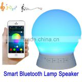 New Arrival LED Light Wireless Speaker Alarm Clock Bluetooth Speaker with LED Light Mini Speaker for Christmas gift