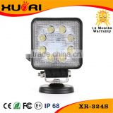 automotive 24w led work light auto parts car accessory with CE ROHS Emark led working light for off-road driving auto accessori
