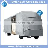 China manufacturer tan deluxe class a motorhome RV cover with door access (24' - 28')