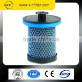 HQ New-240 99.98% filtration efficiency sullair compressed air filter cartridge 2250046-01