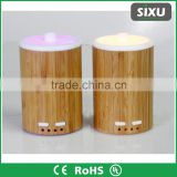 150ml bamboo shell pp water tank electric essential oil ultrasonic led diffuser