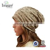Hot Sell Fashion Embroidery Beanie Cap Sport Knitted Hat Custom Winter Pom Pom Knitted Beanie