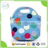 Kids Thermal Dot Insulated Neoprene Lunch Tote Cooler Bag Wholesale