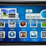 Car dvd player with GPS BLUETOOTH PHONE BOOK HD 1080P