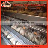 Stable steel structure professional chicken egg layer cage broiler poultry farm house design