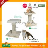 Reversible Use Mat Both Summer and Winter Use Bamboo Chips with Plush Edge Cat Scratcher Board                                                                         Quality Choice