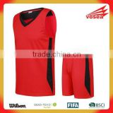 Wholesale blank football jerseys&basketball uniform design&latest basketball jersey desig