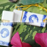 Low Price Blue and White Porcelain USB Flash Drive Disk