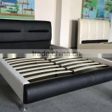 Queen Size PU Leather Platform Bed Set ,Modern Fashion Queen Size Bed Furniture(MB8019)