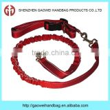 Hands Free Running Dog Leash with Belt Bag;wholesale dog leash;hands free dog leash;dog collar and leash