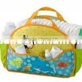 Fisher-price portable mummy bags multifunctional nappy storage bag for baby