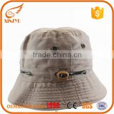 Breathe bump fashion lady spring men bucket hats with string                                                                                                         Supplier's Choice