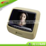 9 inch car headrest monitor with dvd player with hdmi input