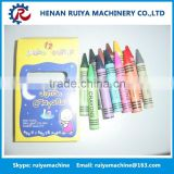 School Round wax Crayon making machine