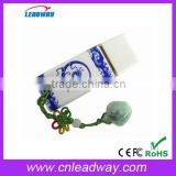blue and white porcelain pen drive Factory Price Christmas Gift 1GB 2GB 4GB 8GB 16GB 32GB