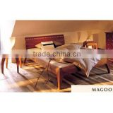 UCF0066 Wooden hotel bed,Bedroom furniture
