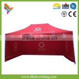 3x3 3x4.5 3x6m Trade Show and Events Hex50mm Aluminum Pop Up Folding Marquee with side walls