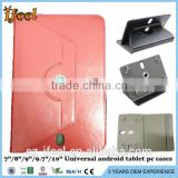 "Red 7 inch Folio Stand Case Cover for 7'' 10.1"" Google Android Tablet PC MID"