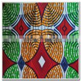new model african super wax printed fabric for making headtie in 110*82