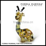 Weeding Gifts Hand Blown Murano Glass Animal Happy Deer New Products Glass Craft