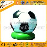 high quality inflatable soccer football shape ground balloon for decoration/advertisement F1036