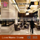 China Factory Direct Sales Cheap light grey wood vain Marble slabs/marble slab /marble slab price