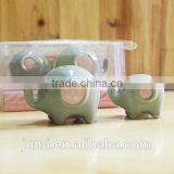 Little Peanut Ceramic Elephant Salt and Pepper Shaker Set Baby Shower Favors party supplies