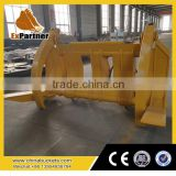 brand new High Quality Front End Loader Grapple, 3t Ce Grapple Log Loader from alibaba.com for SDLG wheel loader