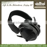 Out door hunting shoting electric earmuff Hearing Protection Head Wearing Safety Earmuff Sound Proof Earmuffs