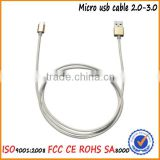 Premium High Speed Extra Long USB 2.0 Micro USB to USB Cable, A Male to Micro B Charge